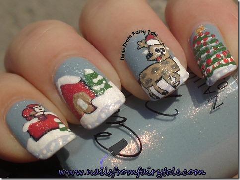 santa reindeer 3