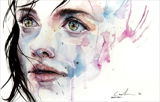 watercolor_agnes cecile