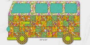 quilt bus