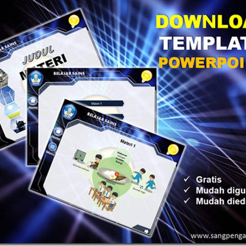 Download Template Powerpoint Gratis : Hi-Tech