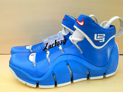 nike zoom lebron 4 ss white royal flexiposite 2 01 Throwback Thursday: Zoom LeBron IV Flexiposite Prototype