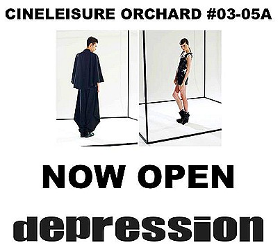 Depression Cineleisure Singapore Mens  Women Unisex Fashion 03-05