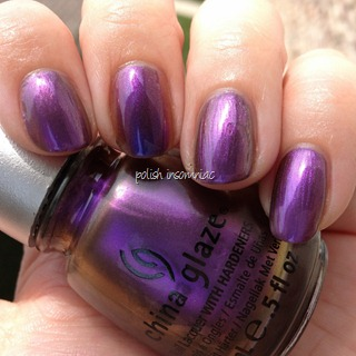 China Glaze No Plain Jane (Ozotic Pro 504 on middle finger) 3