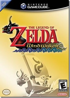 O polêmico e aclamado The Legend of Zelda: The Wind Waker para GameCube