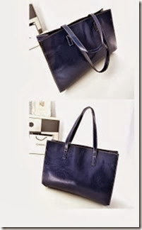 u0855 Blue (170.000) - PU Leather, 43 x 34 x 11