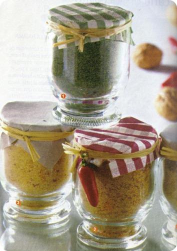 Leccornie da regalare composti agli aromi per panature da la cucina di susana su akkiapparicette - Aromi da cucina ...