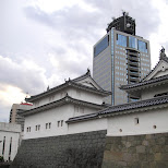 shizuoka castle in Shizuoka, Sizuoka (Shizuoka) , Japan