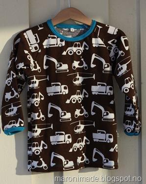 genser med kjøretøy