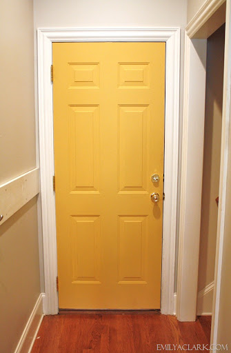 IMG_0504 & Our Yellow Door (And Annie Sloan Chalk Paint) - Emily A. Clark