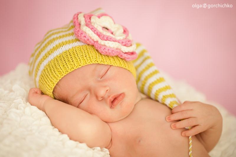 Ульяна, 8 дней. Фотосессия младенцев Гродно
