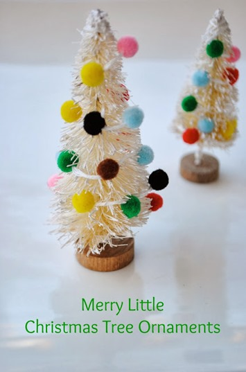 christmas tree ornaments title