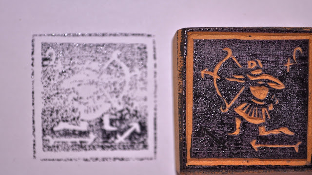 Wooden Block Stamp