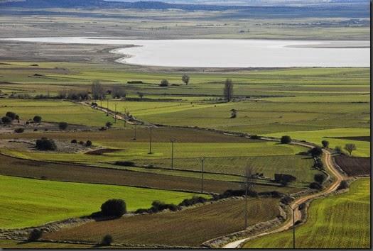 La laguna, los caminos y sus gentes (E. Viñuales)