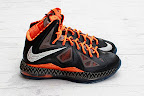 nike lebron 10 gs black history month 4 04 Release Reminder: Nike LeBron X Black History Month