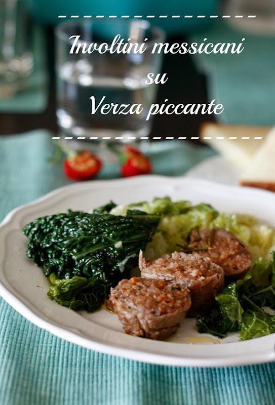 involtini messicani su verza piccante