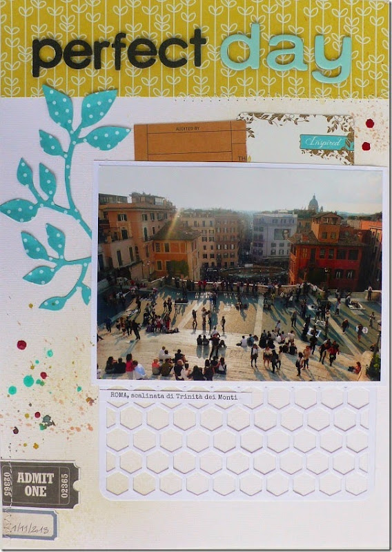 cafe creativo - sizzix big shot - scrapbooking Travel Rome (1)