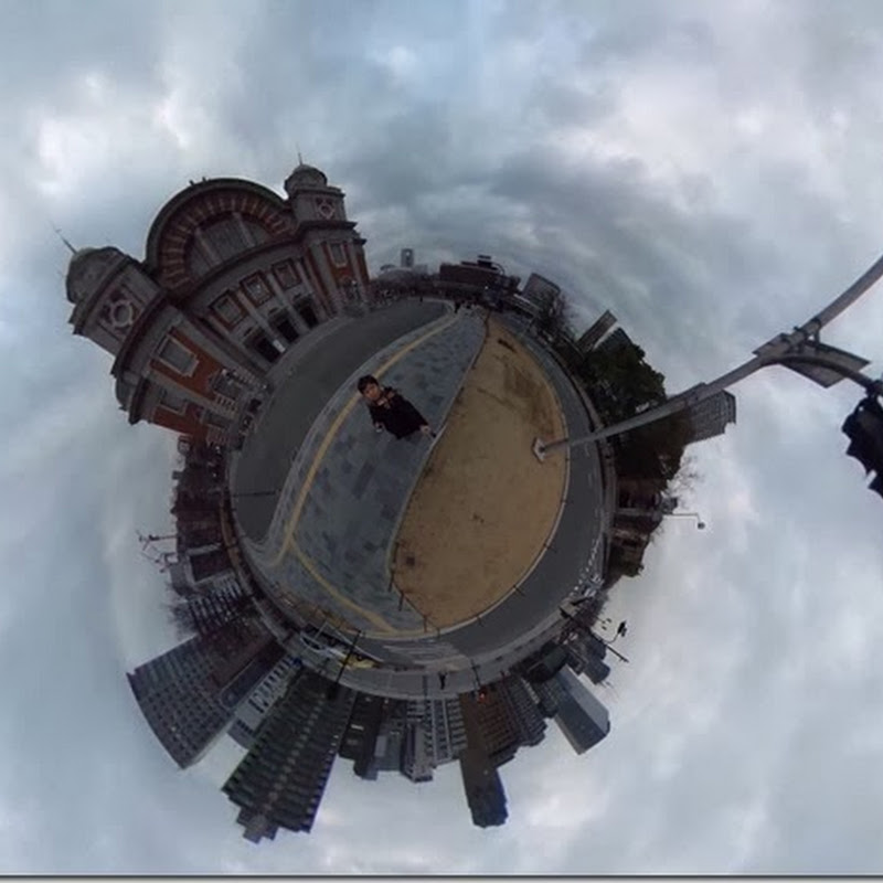 中之島公会堂を撮ってみた【全天球カメラ】