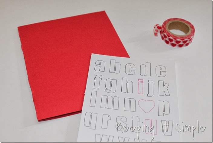 Keeping it Simple Easy Valentines Day Card with Sketch Pens – Easy Valentine Card