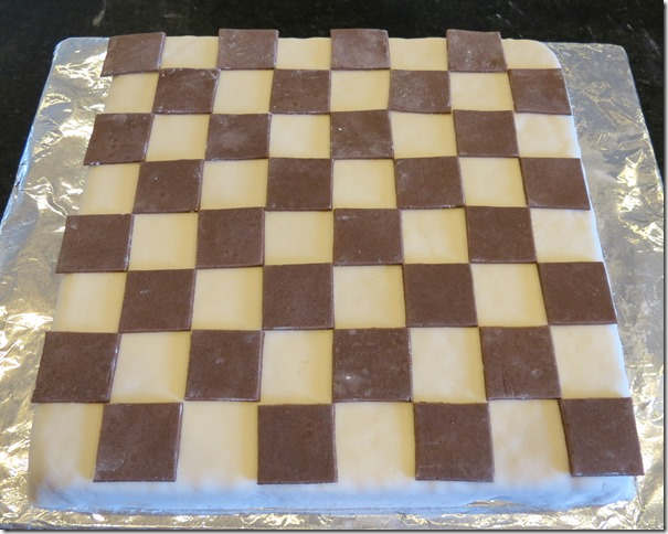 Chess Board Cake (Krispies Treats) Ready to Assemble