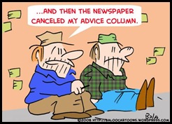 advice cartoon