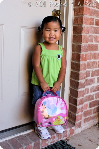 1st Day of School - Keira - Pre-K