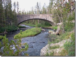 bridge at yellowstone