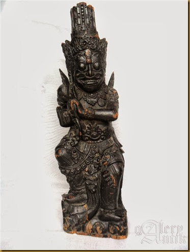 Patung raja klungkung marked