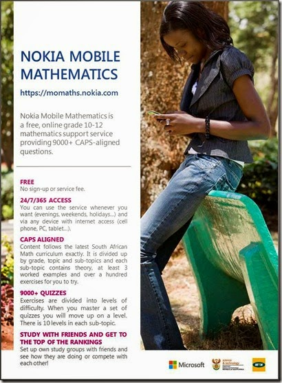 Nokia Mobile Mathematics poster3