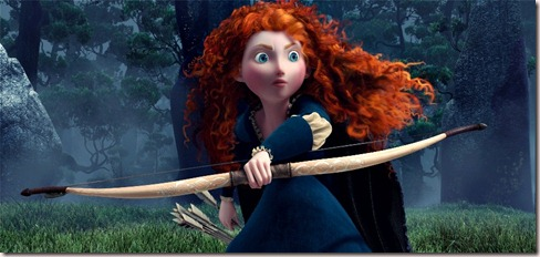&quot;BRAVE&quot;Merida (voice by Kelly Macdonald)&#169;Disney/Pixar.  All Rights Reserved.