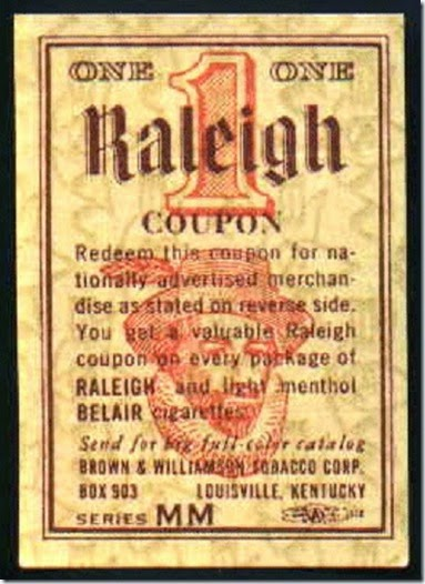 Raleigh Cig Coupon