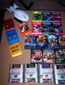 Most of my collection (before I got TNG too)
