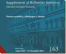 Supplemento al Bollettino Statistico. Novembre 2014