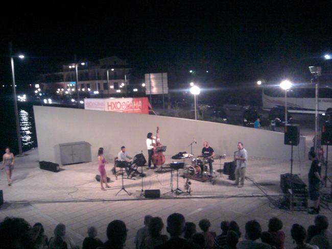 Μια συναρπαστική τζαζ βραδιά στο Μπαστούνι Αργοστολίου