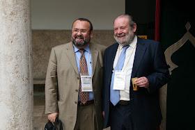 """Congreso Internacional: """"EL ISLAM CERCANO: 1.300 años del nacimiento de al-Andalus"""" Juan Martos Quesada y Oussama El Azzuni."""
