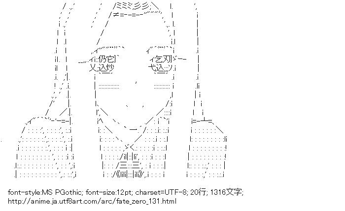 フェイト/ゼロ,アイリスフィール・フォン・アインツベルン,フェイト