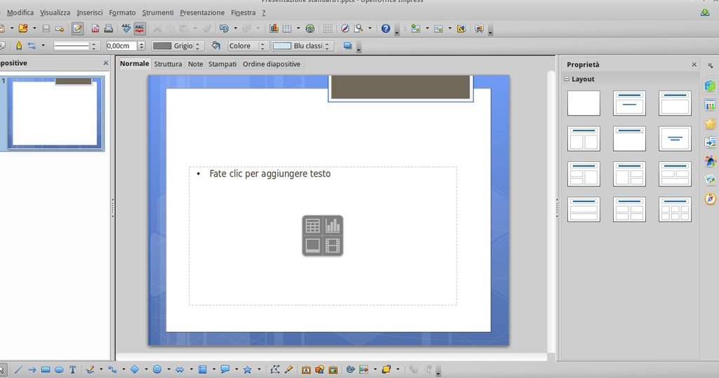 Apache OpenOffice 4.0 Impress