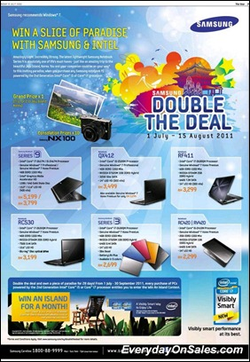 Samsung-Double-The-Deal-2011-EverydayOnSales-Warehouse-Sale-Promotion-Deal-Discount