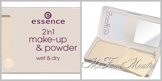2 in 1 Make-up & powder - 10 soft beige fertig