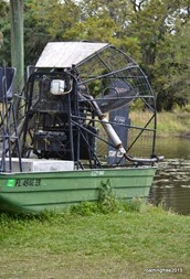Old Airboat