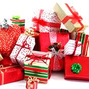 [Christmas presents]