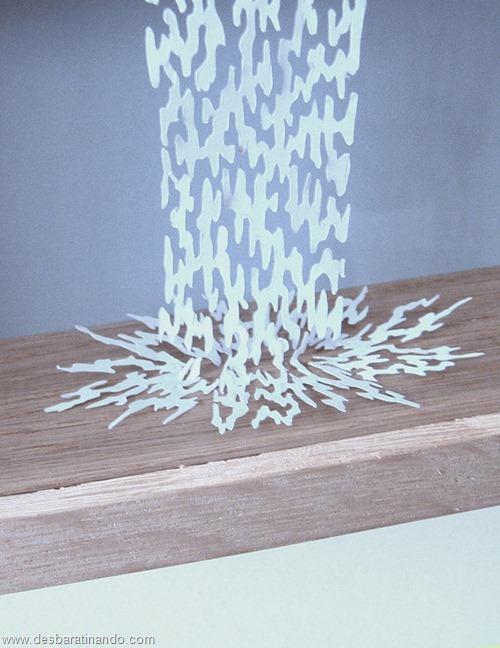 obras de arte em papel 3D origami Peter Callesen desbaratinando (49)