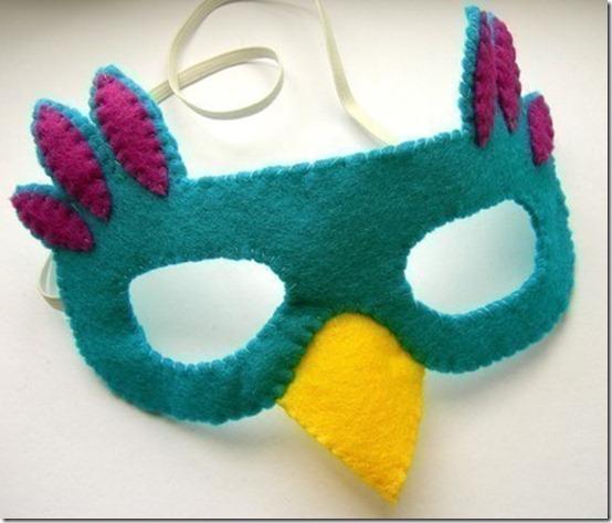 pájaro mascara fieltro (3)