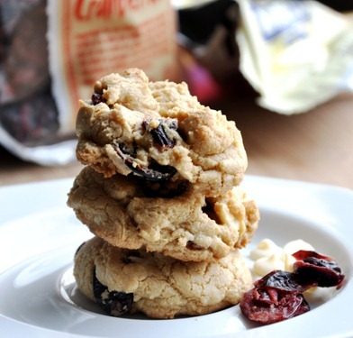 cranberry white chocolate chip cookies 149