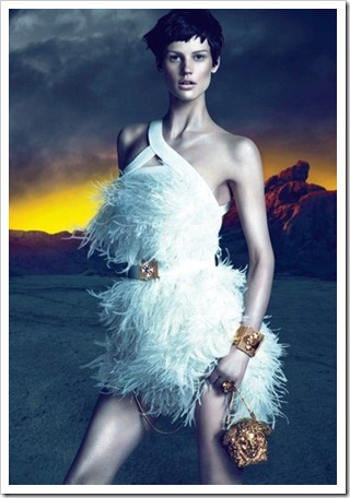 versace fall winter 2011 campaign