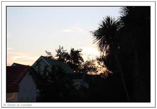 Sunset 13 December