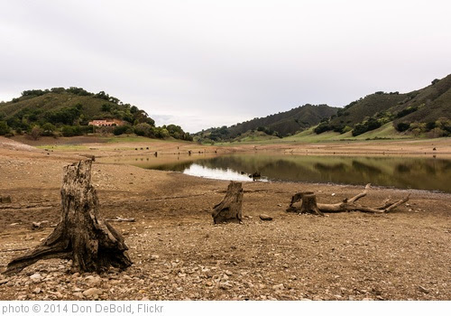 'Effect of the Drought on Uvas Reservoir' photo (c) 2014, Don DeBold - license: https://creativecommons.org/licenses/by/2.0/
