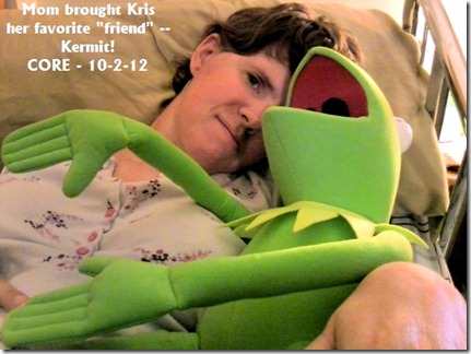 Kris and Kermit - email