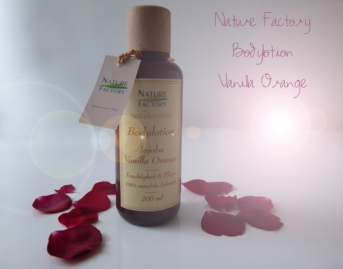 Nature Factory Bodylotion Vanilla Orange