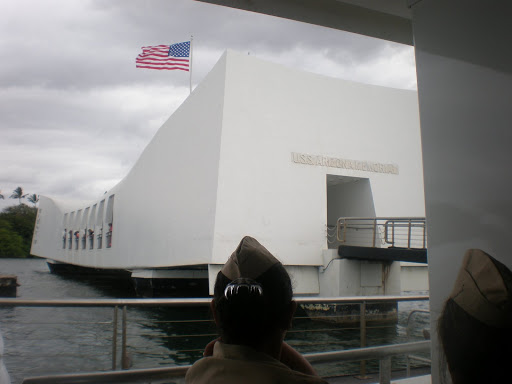 docked at the USS Arizona
