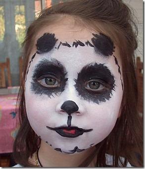 maquillaje de oso panda (9)
